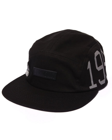 Entree Men Unknown 3M 5 Panel Hat Black