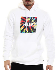 The Skate Shop - Tie Dye Box Logo Pullover Hoodie