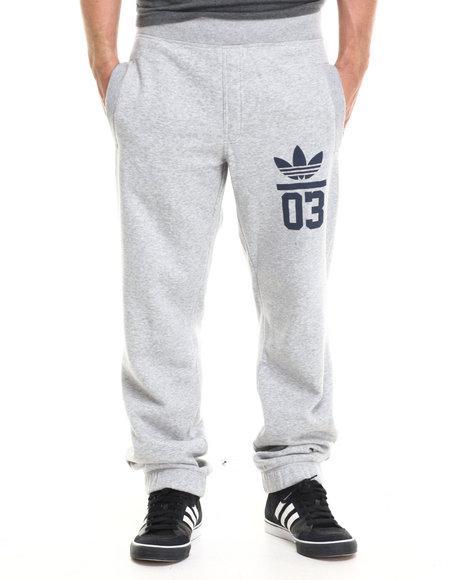 Adidas - Men Grey 3Foil Sweat Pants