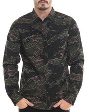 HUF - Tiger Camo L/S Button-down