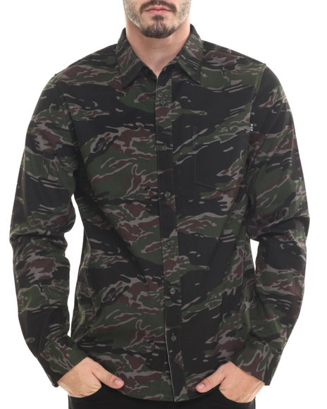 Camo Button-Downs
