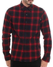 The Skate Shop - Shadow Plaid L/S Button-down
