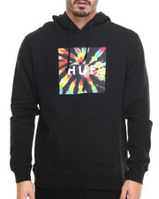 Holiday Shop - Men - Tie Dye Box Logo Pullover Hoodie