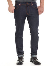 Denim - Thin Finn Dry Ecru Embo Jeans