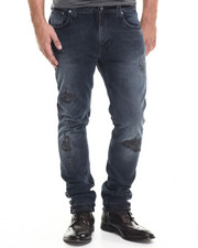 Nudie Jeans - Thin Finn 20 Months Distressed Jeans
