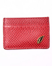 Accessories - Anaconda Faux Leather Ultra Slim Wallet