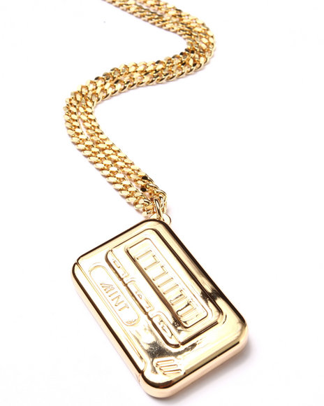 Mint Men Mint Pager 14 Kt Gold Chain Gold