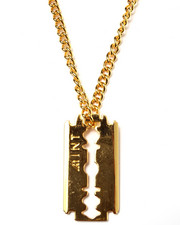 Men - Mint Razor 14 Kt Gold Chain