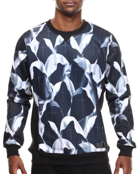Entree - Men Black Grimm Sweatshirt - $53.99
