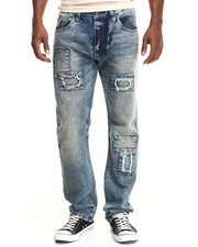 Jeans & Pants - Patch Denim Jeans