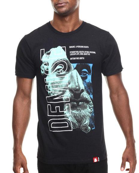 Entree - Men Black Demise T-Shirt - $21.99
