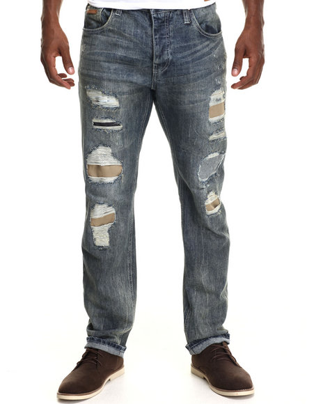 Parish - Men Medium Wash Native Denim Jeans