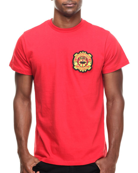 Ur-ID 185999 Vampire Life - Men Red Vampchester T-Shirt