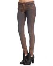 -FEATURES- - Skinzee Metallic Skinny Jeans