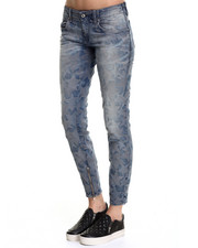 -FEATURES- - Grupee Skinny Star Jeans