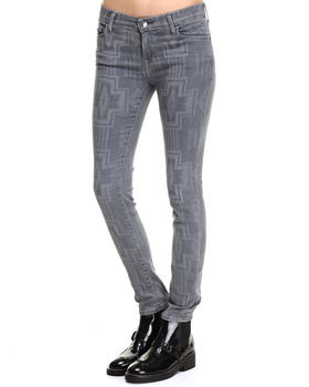 Skinny - Kewa Cross Abbey Jeans