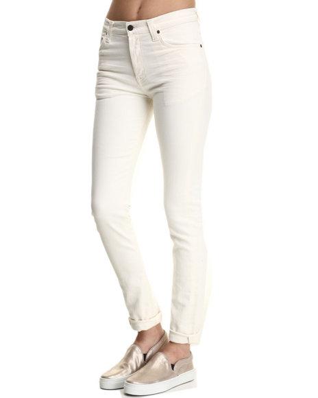 Nudie Jeans - Women Off White High Kai White Crisp Jeans