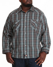 Dickies - Dickies Western L/S Button-Down (B&T)