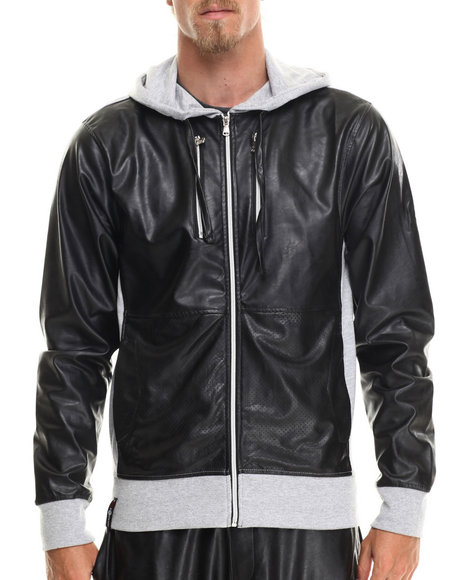 Enyce - Men Grey Side Winder Hoody