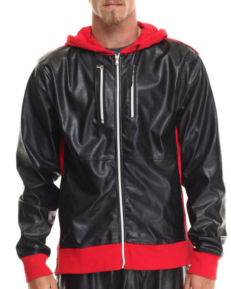 Enyce - Men Red Side Winder Hoody