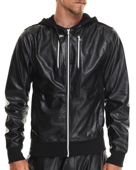 Enyce - Men Black Side Winder Hoody