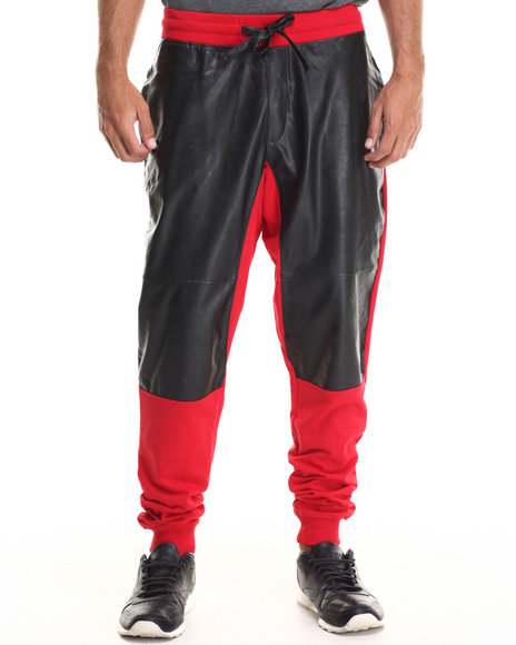 Enyce - Men Red Rhianna Joggers