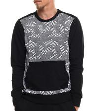 Sweatshirts & Sweaters - Hi Tek Geo Print Sweatshirt
