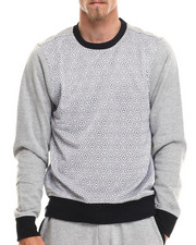 Men - Native Tounge Geo Print Sweatshirt