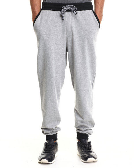 Enyce - Men Grey Tribe Quest Geo Print Sweatpants