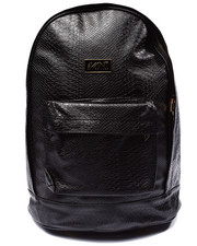 Backpacks - Anaconda Large Faux Leather Backpack