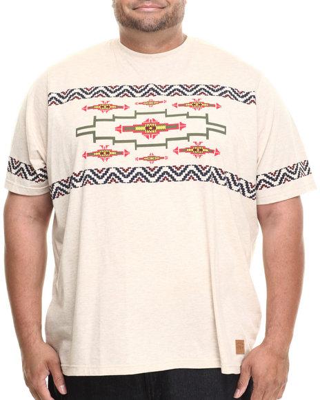 Parish - Men Khaki Printed T-Shirt (B&T)