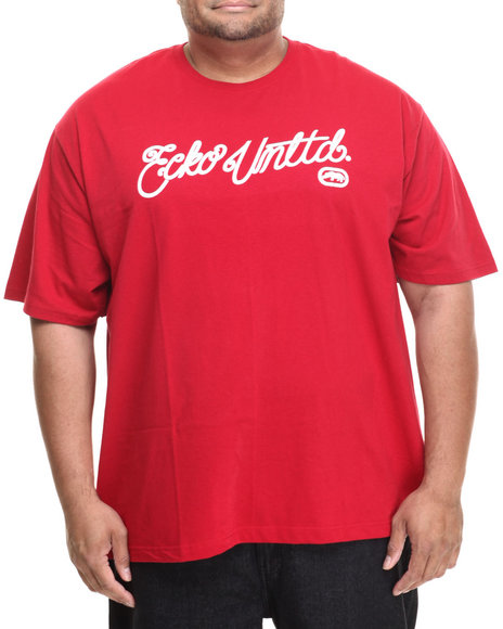 Ecko - Men Red Scripted Graphic T-Shirt (B&T)