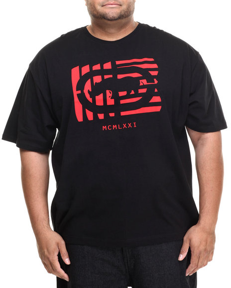 Ecko - Men Black Shutter Outline Rhino T-Shirt (B&T)
