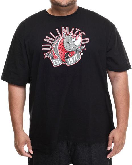 Ecko - Men Black Unlimited Lbr T-Shirt (B&T) - $29.50