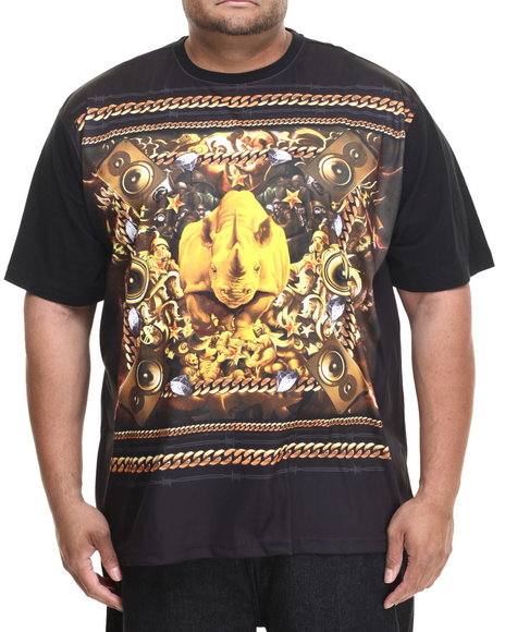 Ecko - Men Black Mint Rhino T-Shirt (B&T)