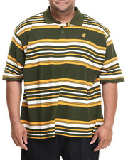 Men - Yarn Dyed Striped Pique S/S Polo (B&T)