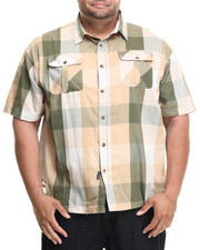 Men - Buffalo Check S/S Buttond-down (B&T)