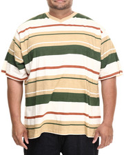 Rocawear - Industrial Stripe S/S V-Neck Tee (B&T)