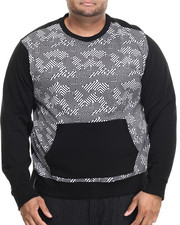 Men - Hi-Tek Sweatshirt W/ Front Pocket Pouch (B&T)