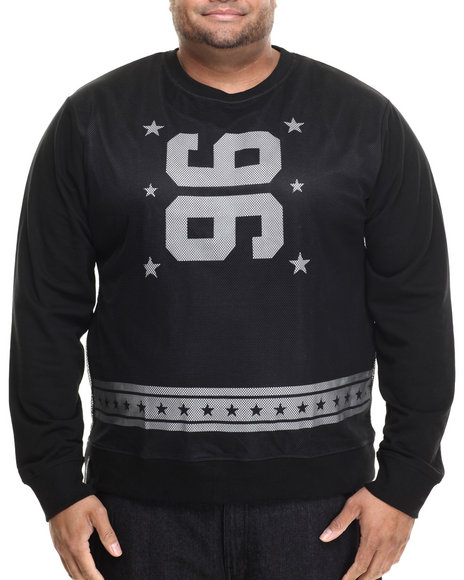 Enyce - Men Black Kick Off Sweatshirt (B&T) - $22.99