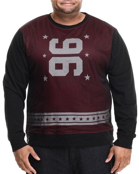 Ur-ID 186043 Enyce - Men Red Kick Off Sweatshirt (B&T)