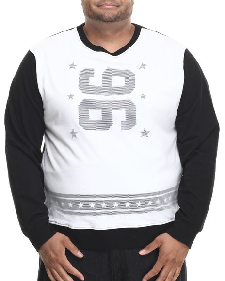 Enyce - Men White Kick Off Sweatshirt (B&T)