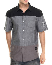 Men - Trek S/S Button-Down