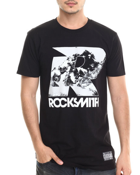 Rocksmith - Men Black Rocky Mountain T-Shirt - $30.00