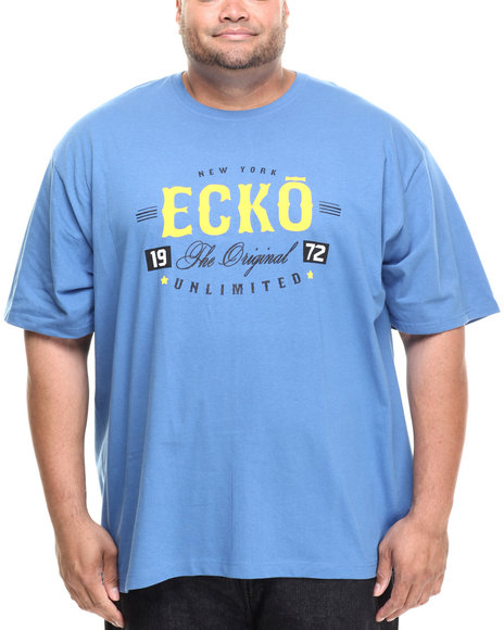 Ecko - Men Blue The Orignal Graphic T-Shirt (B&T)
