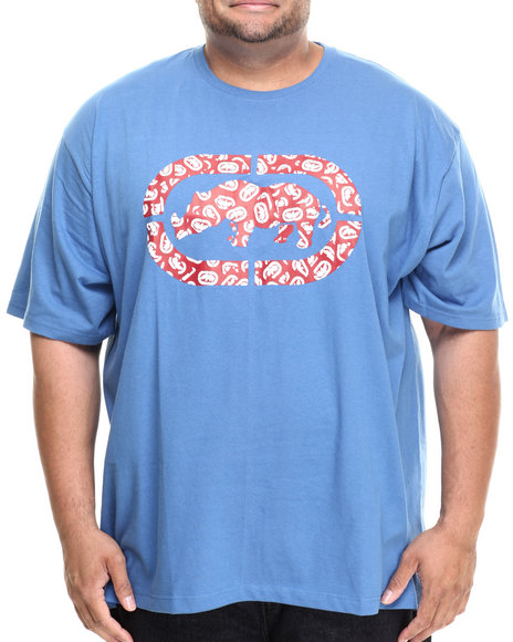 Ecko - Men Blue Rhino Collage T-Shirt (B&T)