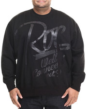 Rocawear - Well Connected Crew Fleece Sweatshirt (B&T)