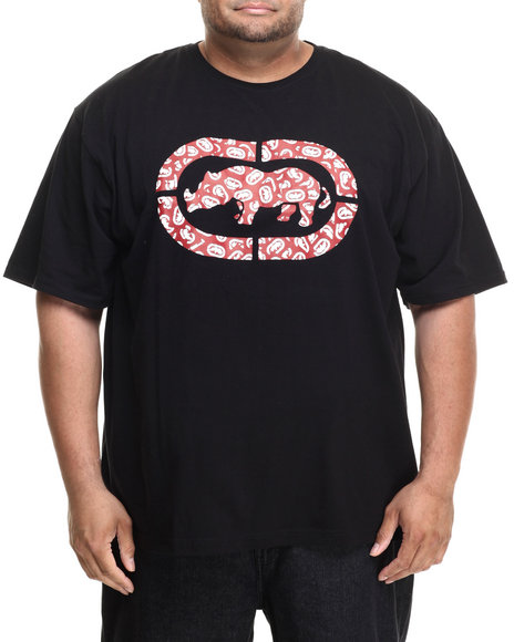 Ecko - Men Black Rhino Collage T-Shirt (B&T)