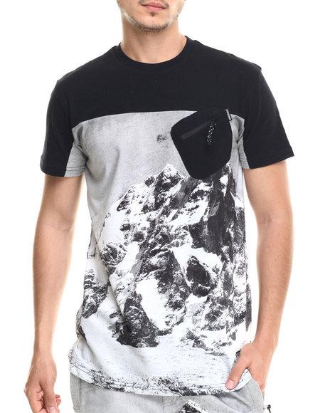 Rocksmith - Men Black Everest Pocket T-Shirt