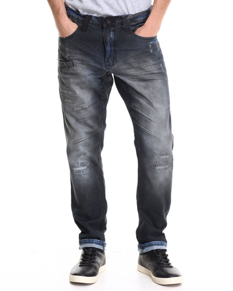Rocksmith - Men Black Peak Denim Jeans - $39.99
